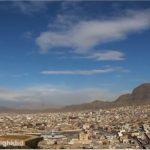 تایم لپسی از نمای شهر خرم آباد