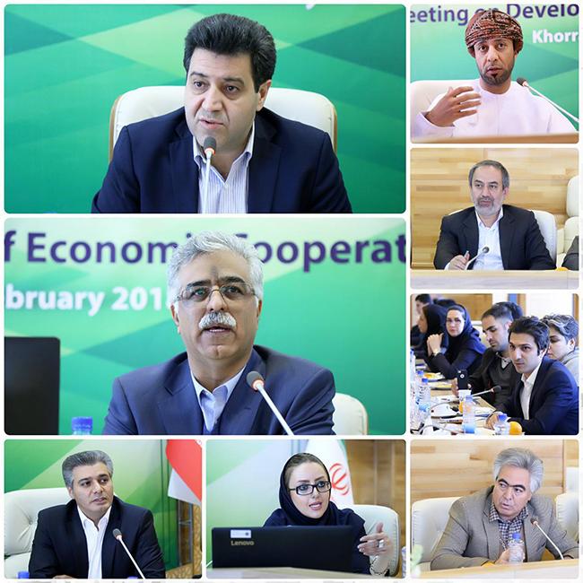 """تصاویر """"همایش توسعه همکاری های اقتصادی لرستان و عمان"""""""
