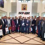 هیات اقتصادی اتاق لرستان از بندر و منطقه آزاد صحار کشور عمان بازدید کردند