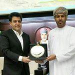 حضور هیئت اقتصادی لرستان در اتاق بازرگانی عمان و مذاکره درباره موضوعات اقتصادی مشترک