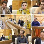 """"""" جلسه کمیسیون فناوری اطلاعات، ارتباطات و کسب و کارهای دانش بنیان """" در اتاق بازرگانی لرستان"""