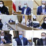 """نشست """"کمیسیون بانک،بیمه و مالیات """" و انجمن پیمانکاران استان در اتاق بازرگانی لرستان"""