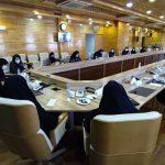 جلسه هیأت مدیره کانون زنان بازرگان لرستان