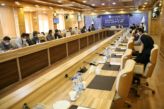گزارش تصویری / نشست مشترک کمیسیون عمران و خدمات مهندسی و منتخبین دوره ششم شورای اسلامی شهر خرم آباد