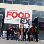 """رییس کمیسیون کشاورزی اتاق خرمآباد از نمایشگاه """"فودکس"""" در ترکیه بازدید کرد"""