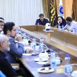 """جلسه """"کمیسیون گردشگری و خدمات"""" اتاق بازرگانی لرستان"""