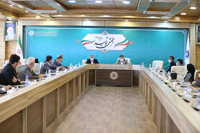گزارش تصویری / جلسه هم اندیشی کمیسیون های تخصصی اتاق لرستان در آخرین روز کاری سال ۹۹
