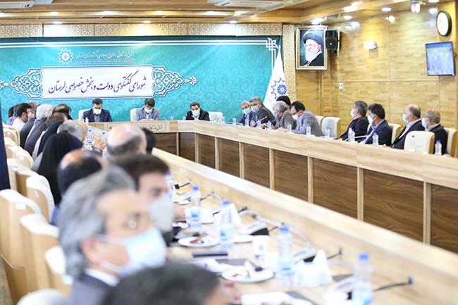 گزارش تصویری / شصت و ششمین جلسه شورای گفتگوی دولت و بخش خصوصی در اتاق بازرگانی لرستان